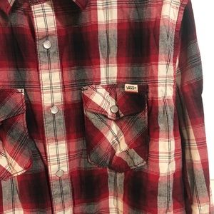Vans Shirts - Vans Button up Long Sleeve Mens Large